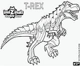 Rex Quiver Coloring Invizimals Dinosauri Colorare Pintar Shadow Disegni Zone Kleurplaten Creature Ombra Printable Kleurplaat Imprimir Boyama Dinosauro Invizimal Colorear sketch template