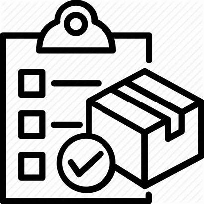 Icon Order Delivery Check Icons Place Sales