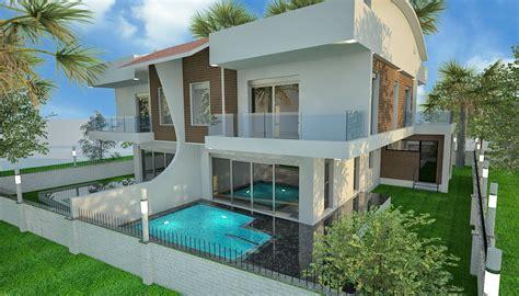chambre de villa villas mitoyennes de 5 chambres à vendre à antalya kundu