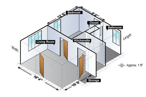Room Layout   Housing at Purdue University