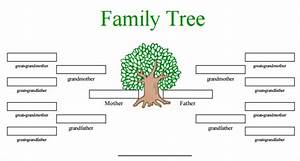 Editable family tree templates free blank family tree for Interactive family tree template