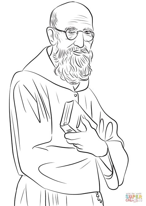Coloring Picture by Solanus Casey Coloring Page Free Printable Coloring Pages