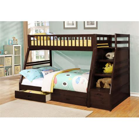trundle bed mattress thickness wildon home dakota bunk bed with storage