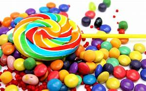 Lollipop and candy wallpaper - 788133