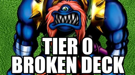yugioh tier 0 broken deck youtube