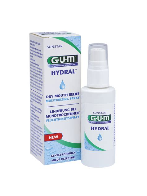 Gum Hydral Spray Ivohealth