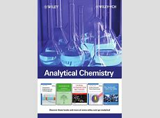 Analytical Chemistry Catalogue by John Wiley and Sons Issuu