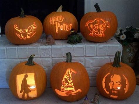 awesome  pumpkin decor  carving ideas digsdigs