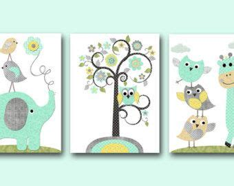 Leinwandbilder Kinderzimmer Junge by Kinder Wand Kunst Leinwand Kindergarten Print Elefant