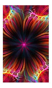 Download wallpaper 1920x1080 fractal, flower, colorful ...