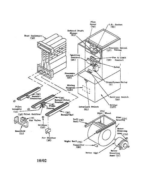 goodman furnace parts model eggdc  sears