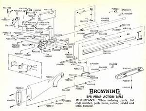 Does Anyone Have A Disassembly And Assembly Drawing For A Browning Blr 22 Pump Rifle