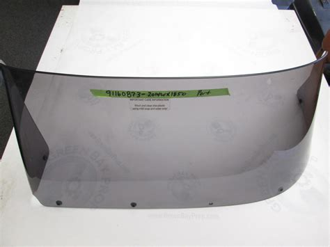 Skeeter Boats Windshield by Skeeter Wx 1850 Boat Tinted Port Left Windshield 33