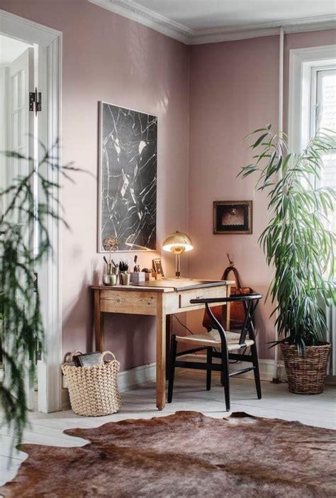 idees deco salon cocooning de style hygge bureau