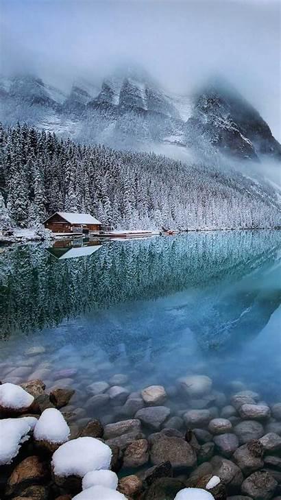 Iphone Lake Zen Max Xs Wallpapers Winter