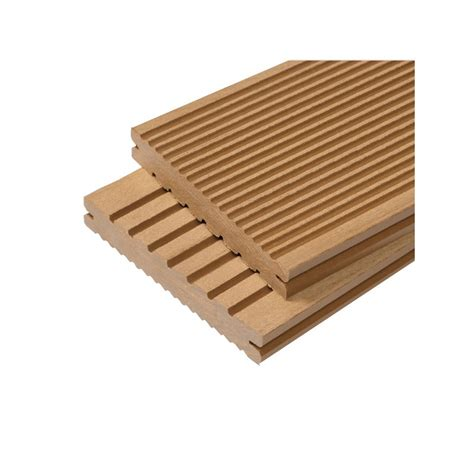 lame terrasse bois composite plein maxima l 360 cm l 14 cm ep 2 2 cm mccover