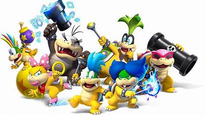 Koopaling Koopalings Facts Bowser Ages Bowsers Word