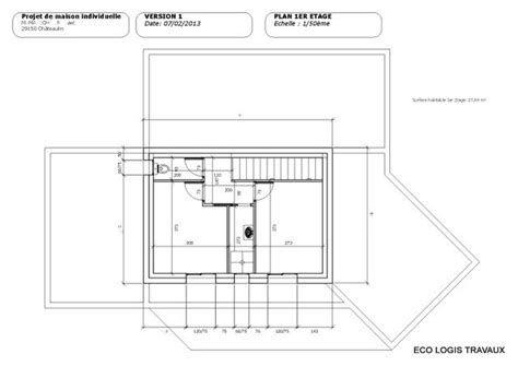 plan de maison moderne toit plat gratuit plan de maison moderne 224 toit plat plan gratuit eco logis travaux