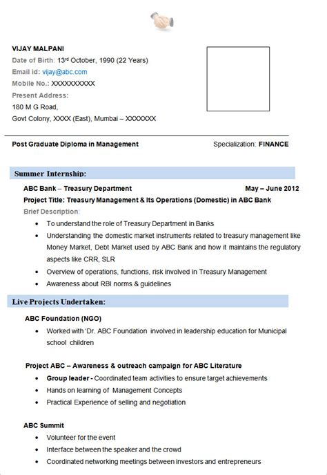 finance resume sample templates wisestep