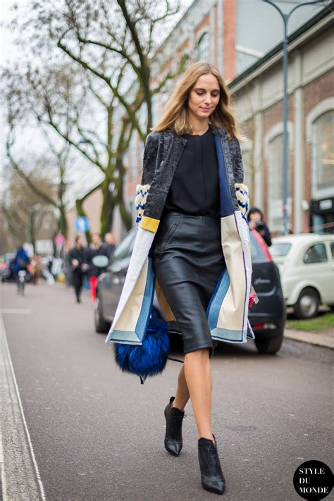 Candela Novembre by Milan Fashion Week Fw 2014 Style Candela Novembre