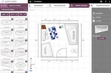 badezimmerplaner das traumbad spielend leicht planen - Badezimmer 3d Planer