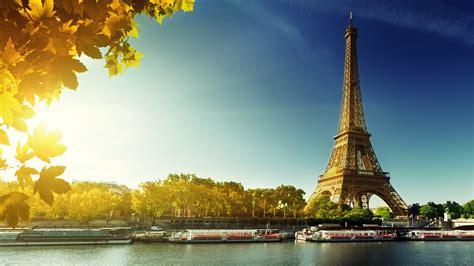 wallpaper paris eiffel tower france autumn travel