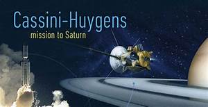 Cassini: Space probes, history and women - Making Science ...