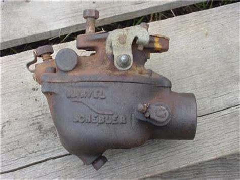 ford    marvel schebler tsx  carburetor