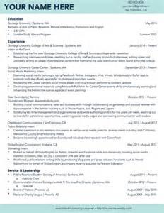 college student resume exles first job teen gonzaga university sle student résumé résumé sles pinterest best gonzaga university
