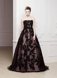 The best gothic wedding dresses hitchedie for Dark wedding dresses
