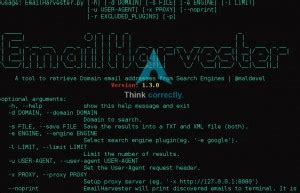 emailharvester   tool  retrieve domain email
