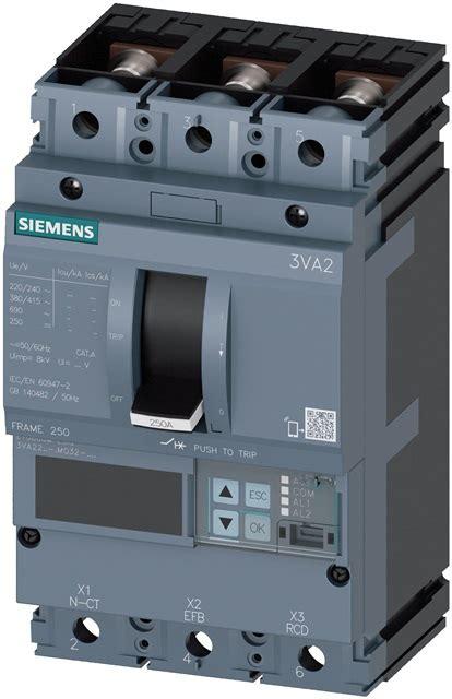 molded breakers circuit breakers siemens power