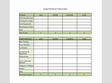 12+ Sample Monthly Budget Spreadsheet Templates Word