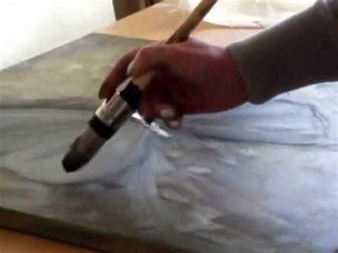 handgeschilderd acrylverf schilderij van een vlinder