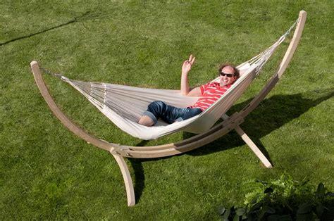 supporto amaca amaca modesta singola con supporto canoa la siesta