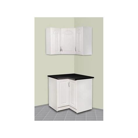 am駭agement meuble d angle cuisine meuble de cuisine d angle haut et bas dina achat vente