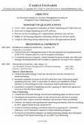 Sample Resume For Management Position Resume Template Resume Objective Internal Promotion Cover Letter Sample Good Objective For A Resume Resume Sample Template Template Resume Examples Job Description Manager Account Manager Job