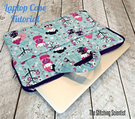 tuto une housse pour ordinateur portable macbook via the stitching scientist sac