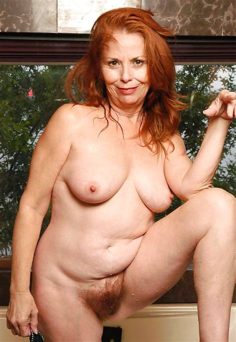 Mature Hairy Redhead Stella 20 Pics