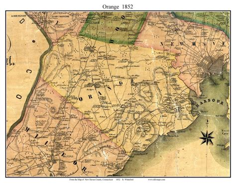 haven county ct  single map reprints
