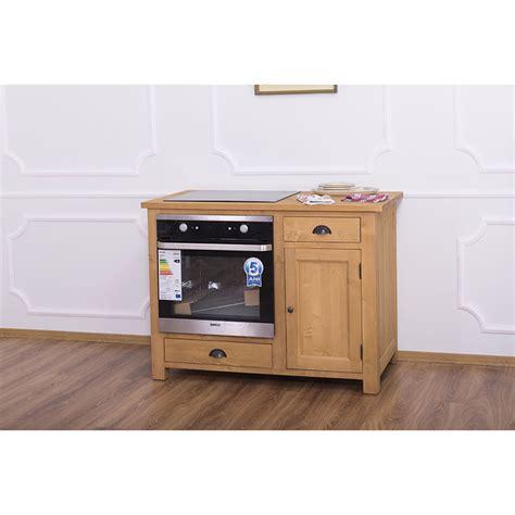 meuble de cuisine pour four encastrable et plaque de cuisson avec placard le d 233 p 244 t des docks