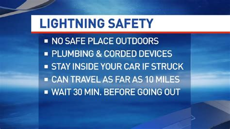 lightning safety tips and advice wics