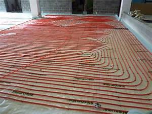 Pompe A Chaleur Chauffage Au Sol : chauffage au sol via pompe chaleur climacool ~ Premium-room.com Idées de Décoration