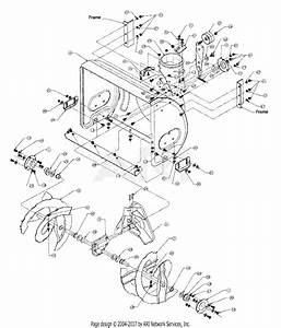 Mtd 317e633e190 Snow Boss 750  1997  Parts Diagram For