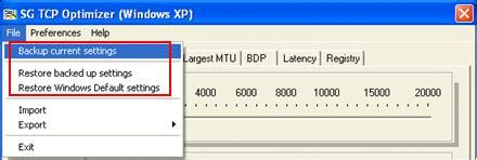 Best Tcp Optimizer Settings Using Sg Tcp Optimizer To Improve Speed