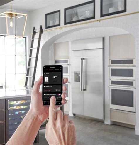 monogram zissdnss  cu ft smart built  side  side refrigerator  dispenser