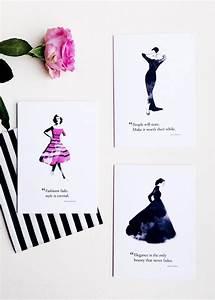 Fashion Quote Illustration: Audrey Hepburn | Georgie St Clair
