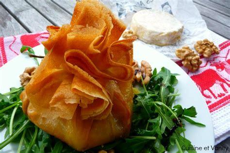 feuille cuisine marcellin à la noix en feuille de brick cuisine et
