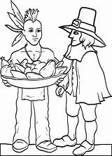 Coloring Pilgrim Indian Pages Pilgrims Thanksgiving Printable Indians Native Preschool Sheets Bestcoloringpagesforkids Americans Activity Stories Pdf Printables Worksheets Draw Category sketch template