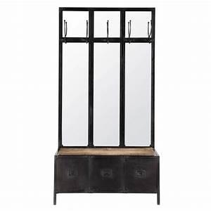 Meuble D Entrée Vestiaire : meuble entree vestiaire maison du monde ~ Teatrodelosmanantiales.com Idées de Décoration